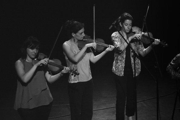 La Bande à Balk à la MJC Laennec Mermoz - violons