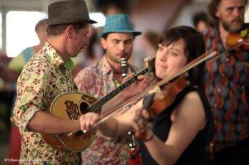 La Bande à Balk au festival Trad'Ardèche