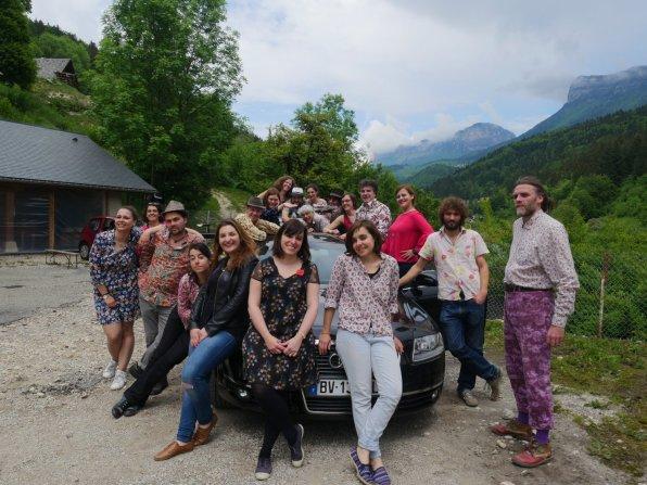 La Bande à Balk en montagne avec Priyateli