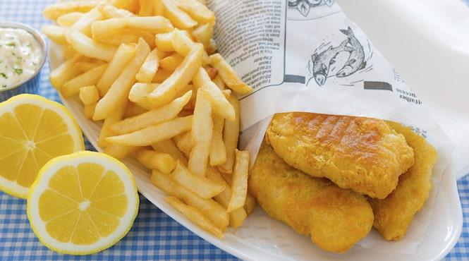 Savez-vous cuisiner la recette du fish and chips?
