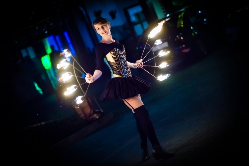 Labareda Fireshow - Ladies Night - AnMa Studio