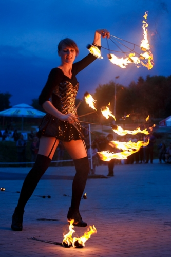 Labareda Fireshow - Ladies Night - Szymon Duda (1)