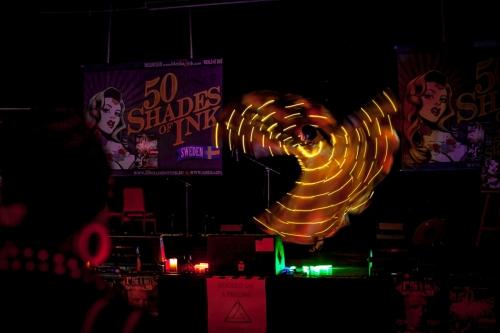 Labareda Fireshow - Light Show