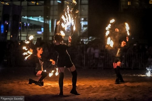 Labareda Fireshow - We Will Rock You - Agencja Gazeta