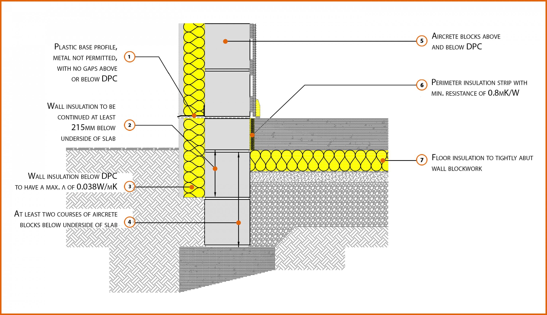 E5smew25 Concrete Ground Bearing Floor Insulation Below
