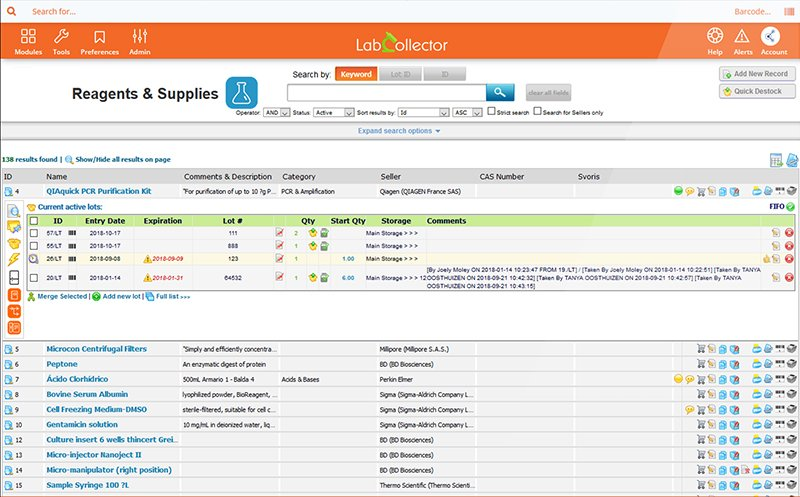 MSDS Sheet Management Solution with LabCollector LIMS