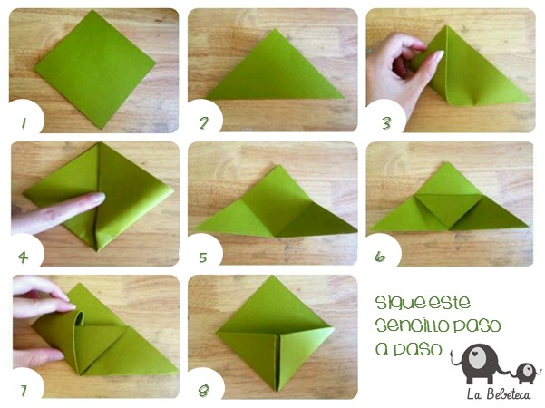 Origami Bookmark Instructions Pdf