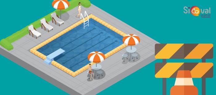 Attention : fermetures de piscines cet été