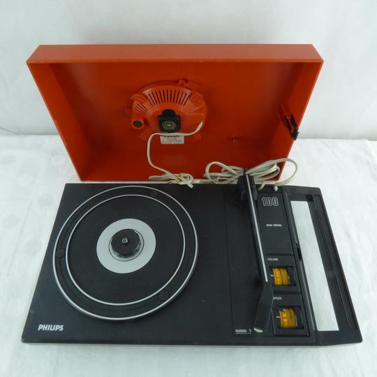 tourne disque vintage philips