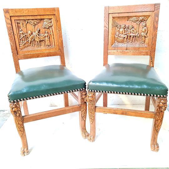 chaise bretonne rare ancienne