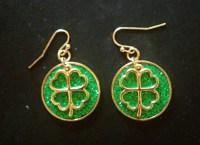 Four Leaf Clover Earrings | Label56
