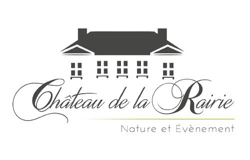 Identité visuelle pour le Château de la Rairie