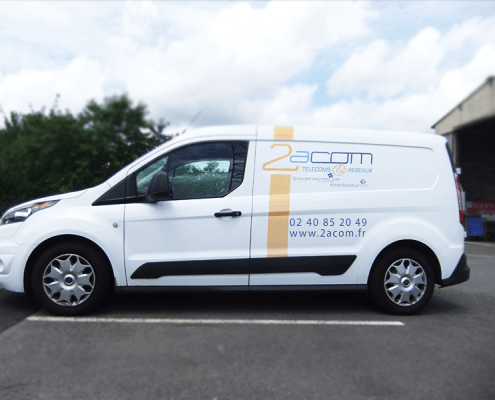Flocage Ford Transit Connect 2Acom