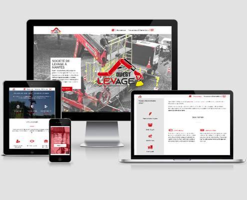Création de site internet - Ouest Levage
