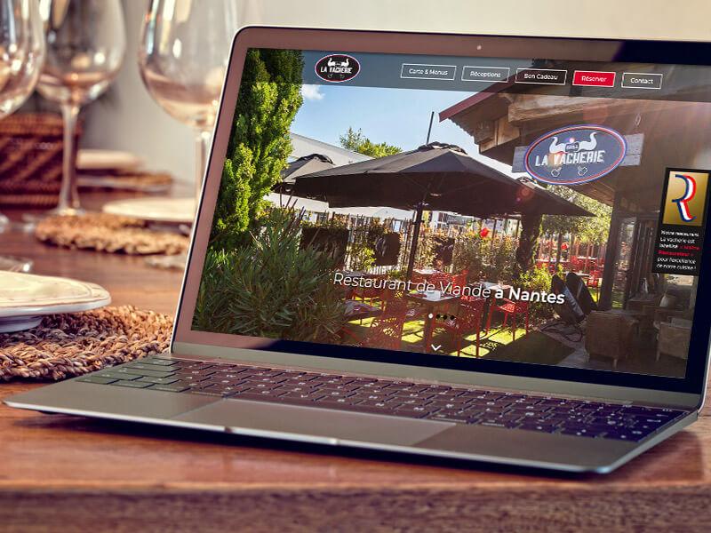 Refonte du site internet du Restaurant La Vacherie