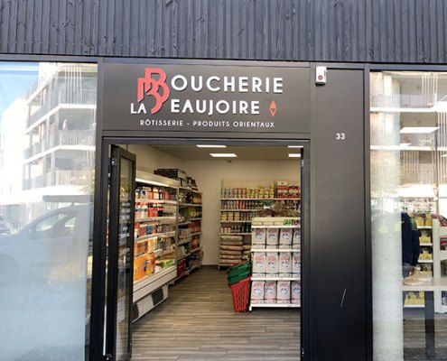 Boucherie La Beaujoire - Nantes - Label Communication