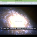 Interaktive Karte unserer Galaxie