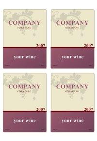 Etiqueta de Vino  Labeljoy | Software de Impresin de ...
