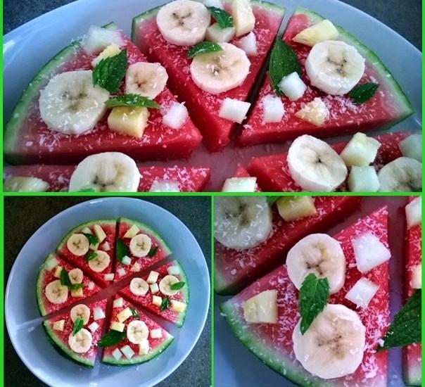 pizza frutta