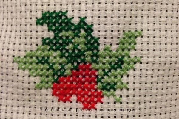 decorazione Natale punto croce