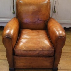 Distressed Leather Armchair Uk Bouncy Ball Chair For Work F379 S Compact Vintage French Club La
