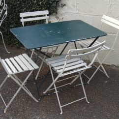 French Bistro Table And Chairs Uk Chair Covers Big W G086 S Vintage Folding Garden Patio Café