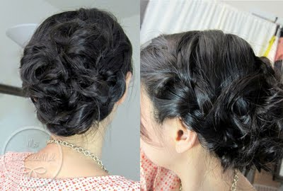 Dutch Loop Updo Tutorial LaBelleMel