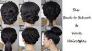 six simple hairstyles work