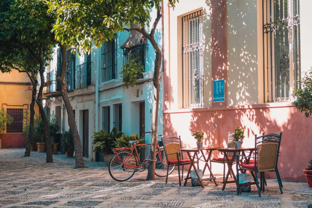 eating out in small cafes is a must when traveling to Barcelona Spain