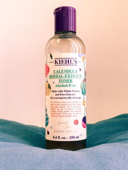 Best Kiehls Skincare Products for Oily Skin. My review on my tops favorite Kiehls skin care products, such as their Calendula Herbal Extract Alcohol-Free Toner