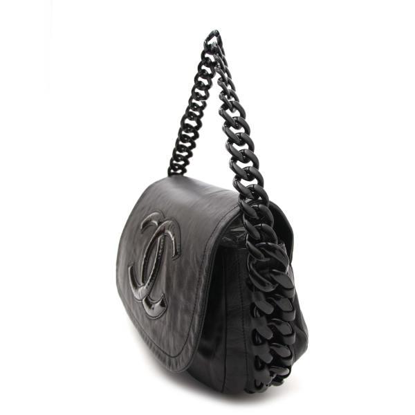 383d845effab Chanel Black Caviar Medium Double Flap Shw Shoulder Bag Purse. Authentic  Vintage Luxury Designer Handbags Online
