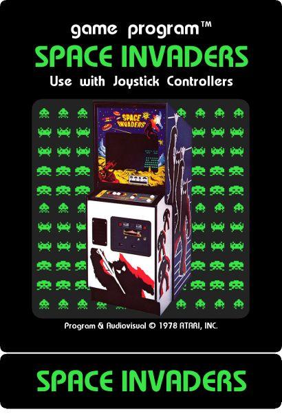 Atari 2600 Label Maker  Sample Images