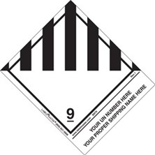 Personalized Shipping Name Miscellaneous Dangerous Goods