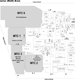 the mall at the world trade center concourse map created by the national institute of [ 936 x 843 Pixel ]