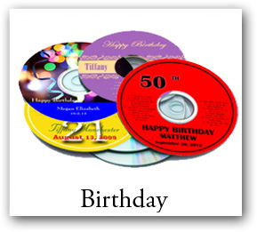 personalized cd dvd labels