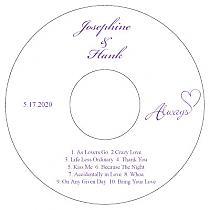 wedding cd dvd labels