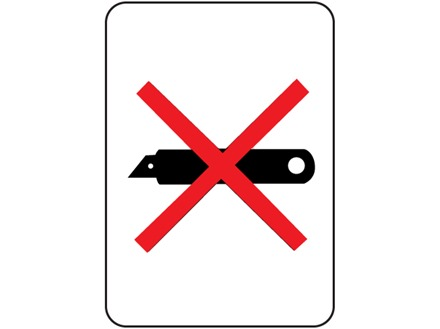 Image result for do not use blade