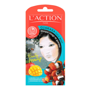 Masque visage au guarana