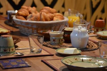 logies en ontbijt