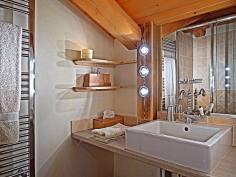 Alpages room Italian shower - Bergerie B&B