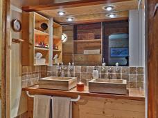 chambre Aigles avec salle de bain - style traditionnel La Bergerie