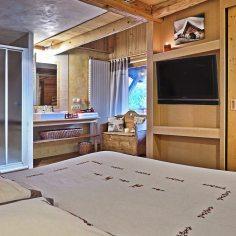 Chambre des chamois avec sdb - Bergerie chambres d'hotes