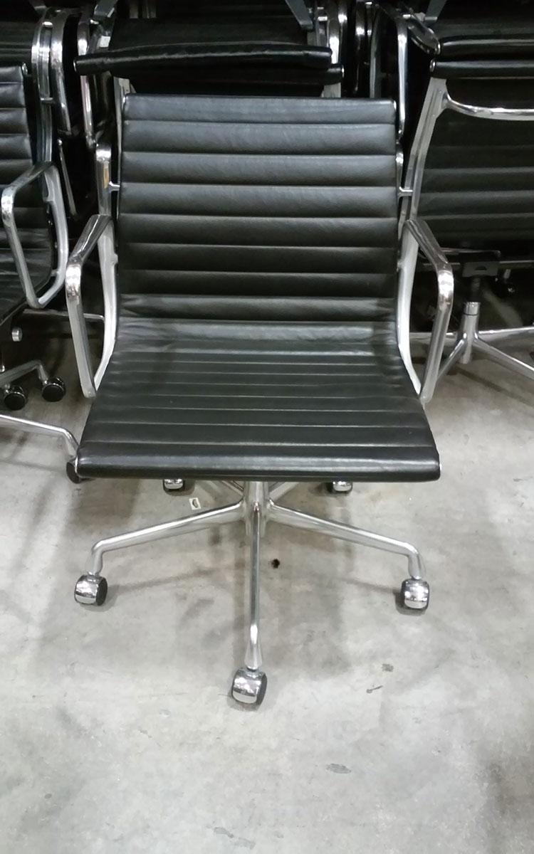 eames aluminum group management chair ergonomic for short person herman miller
