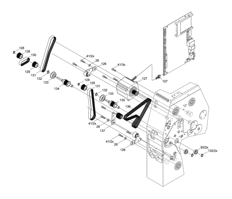 Cab Xd4t Textile Label Printer Spare Parts Finder