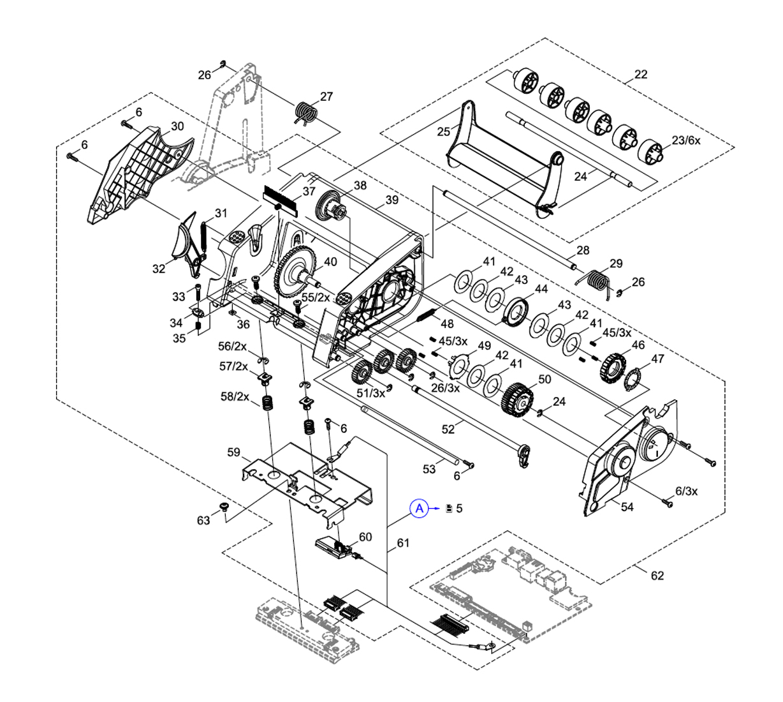 Cab MACH 4S Label Printer Spare Parts Finder