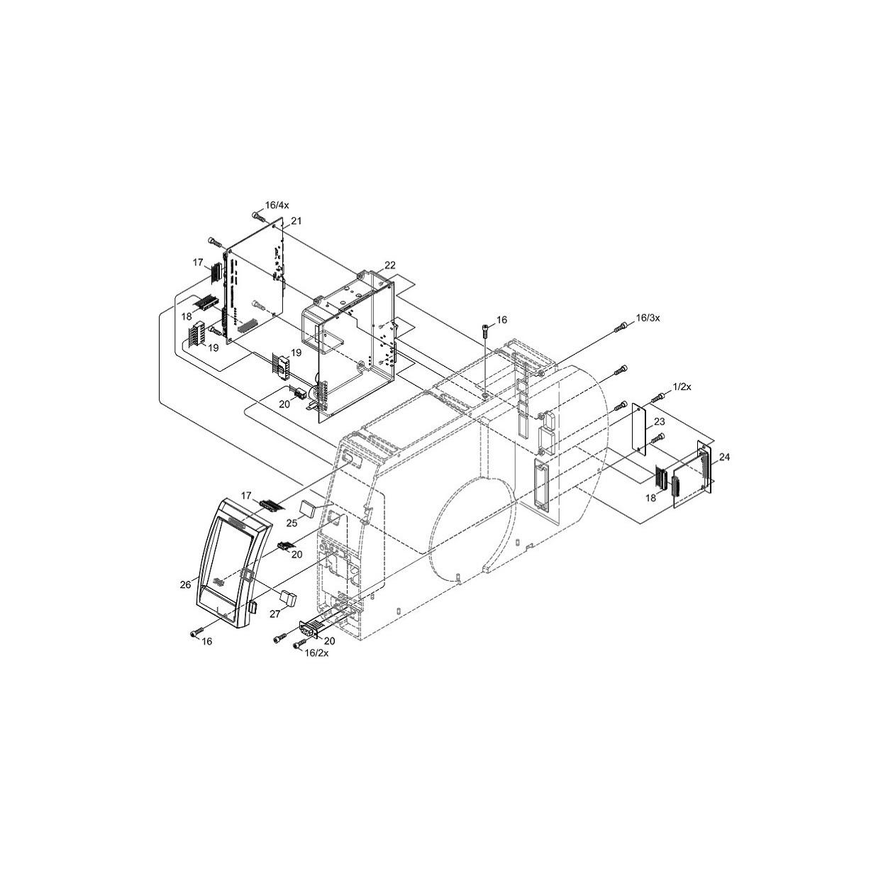 Cab SQUIX 2 Industrial Label Printer Spare Parts Finder