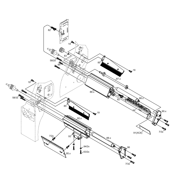 Cab XC4 GHS Label Printer Spare Parts Finder