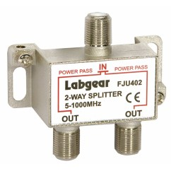 2 Way Splitter Wiring Diagrams For Kenmore Refrigerators Uhf Power Pass Both Ports Labgear