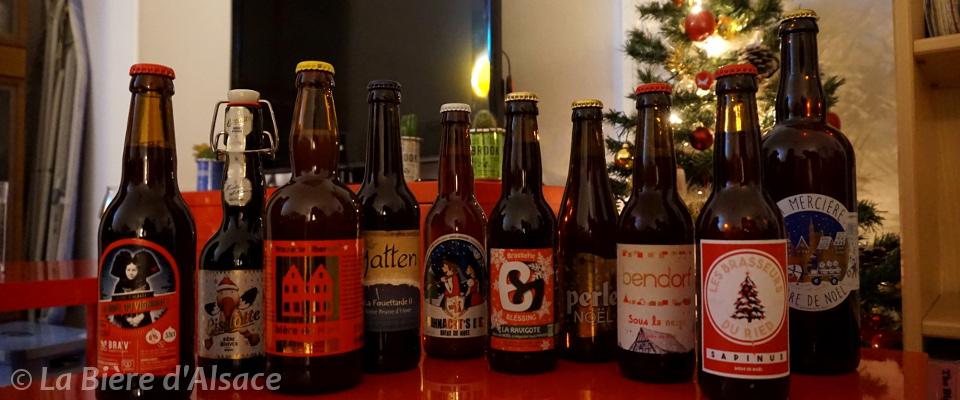 Bières de Noël d'Alsace