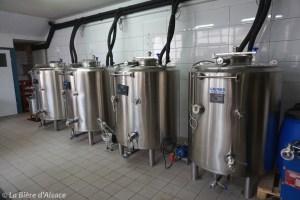 Brasserie La Narcose - Fermenteurs